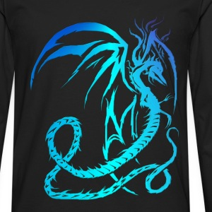 Electric Dragon  - Men's Premium Long Sleeve T-Shirt