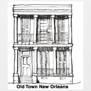 New Orleans Old Time House - Men's Premium Tank
