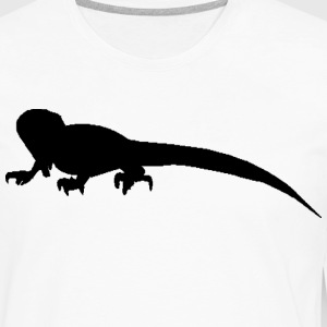 White Iguana Men - Men's Premium Long Sleeve T-Shirt