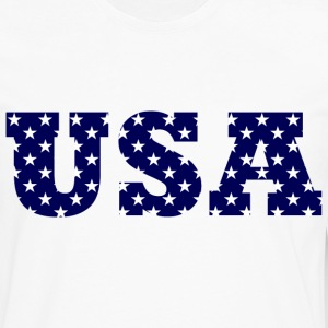 Star Spangled USA - Men's Premium Long Sleeve T-Shirt
