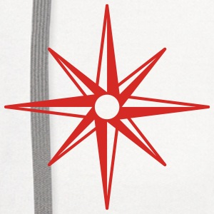 Compass Rose Shirt - Contrast Hoodie