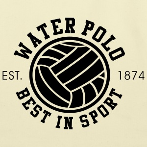 Water Polo - Best in Sports - Since 1874 - Eco-Friendly Cotton Tote
