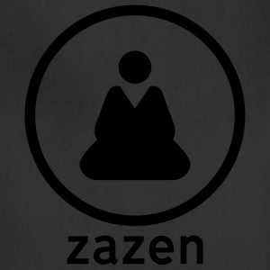 Black Zazen Sign Men - Adjustable Apron