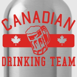 Red Canadian Drinking Team  Men - Water Bottle