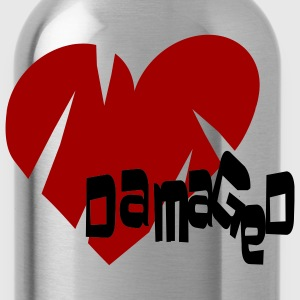 Ash  Damaged Heart Men - Water Bottle