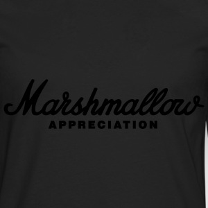 Black Marshmallow Appreciation T-Shirts - Men's Premium Long Sleeve T-Shirt
