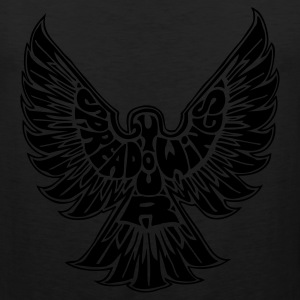 Black Spread Your Wings T-Shirts (Short sleeve) - Men's Premium Tank
