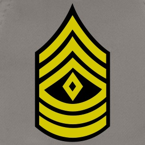 army rank first sergeant badge patch - Baseball Cap