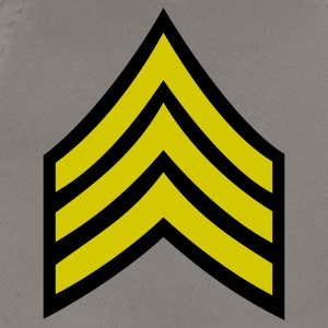 army rank sergeant badge patch - Baseball Cap