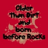 Red Older Than Dirt T-Shirts (Short sleeve) - Men's Premium T-Shirt