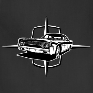 Black auto_lincoln_star_and_car_1_bw T-Shirts (Short sleeve) - Adjustable Apron
