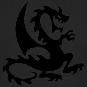 Black dragon T-Shirts - Men's Premium Long Sleeve T-Shirt