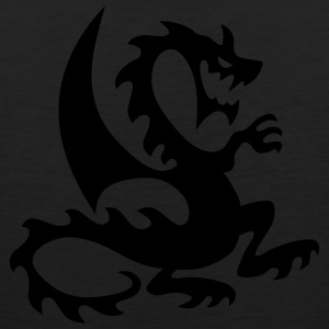 Black dragon T-Shirts - Men's Premium Tank