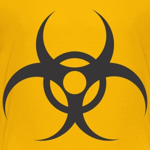 Yellow Waste - Biohazard Kids Shirts - Toddler Premium T-Shirt