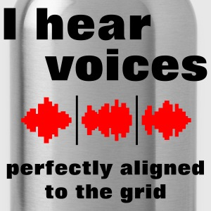 I Hear Voices T-Shirts - Water Bottle
