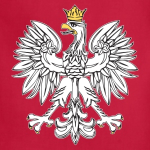 Polish Eagle With Gold Crown - Adjustable Apron
