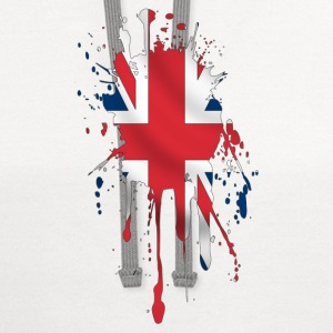 union jack t-shirt - Contrast Hoodie
