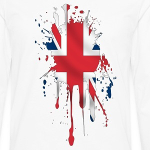 union jack t-shirt - Men's Premium Long Sleeve T-Shirt