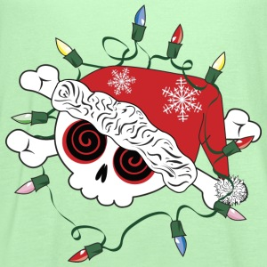 Santa Skull - Women's Flowy Tank Top by Bella