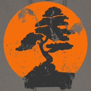 Chocolate Miyagi Banzai Tree Karate Kid Patch T-Shirts - Men's Hoodie