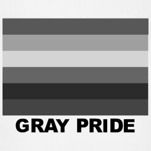 Ash  GRAY PRIDE! T-Shirts - Adjustable Apron