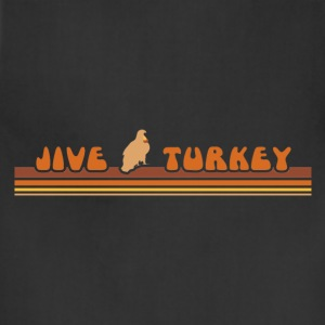Chocolate jiveturkey T-Shirts - Adjustable Apron