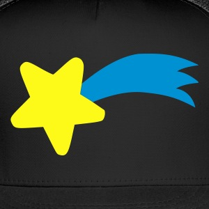 Black Shooting Star T-Shirts - Trucker Cap