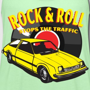 Rock & Roll Stops the Traffic - Women's Flowy Tank Top by Bella