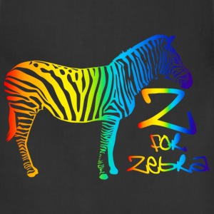 Z for Zebra - Adjustable Apron