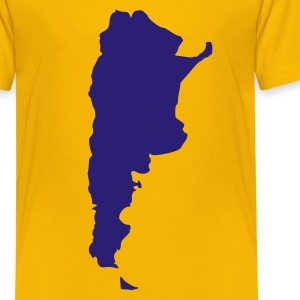 Yellow Argentina Kids Shirts - Toddler Premium T-Shirt