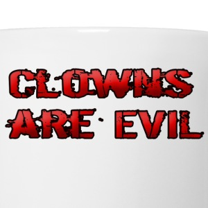 Clowns are Evil - Coffee/Tea Mug