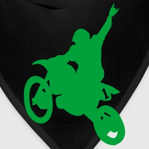 Kelly green Dirt Bike Kids Shirts - Bandana