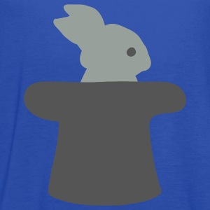 Royal blue Magician Bunny Magic Kids Shirts - Women's Flowy Tank Top by Bella