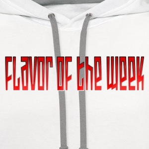 Flavor of the Week - Contrast Hoodie