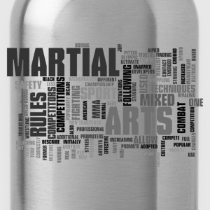 Mixed up martial arts T - Water Bottle