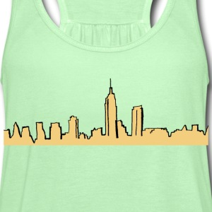 City Shirt - Women's Flowy Tank Top by Bella