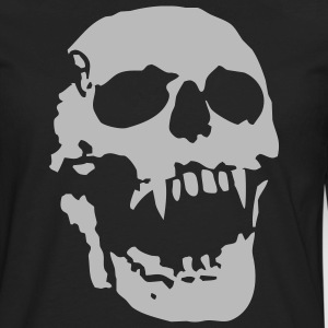 Vampire skull - Men's Premium Long Sleeve T-Shirt