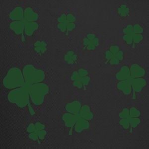 Black All over four leaf clover T-Shirts - Trucker Cap