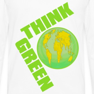 Think_Green - Men's Premium Long Sleeve T-Shirt