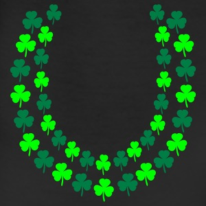 White Irish Shamrock Lei, Open End Toddler Shirts - Leggings