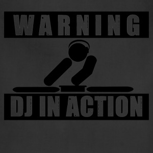 DJ in action - Adjustable Apron