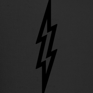 Lightning Bolt T Shirt - Silver - Trucker Cap