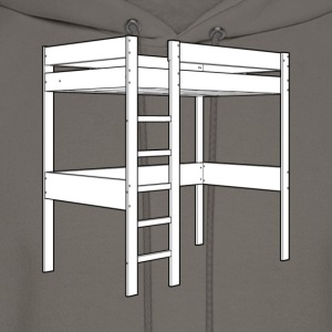 Bunk bed [2nd edition] - Men's Hoodie