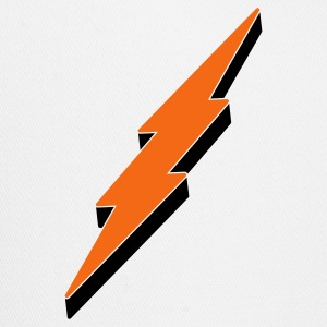 3-D Lightning Bolt T Shirt - Trucker Cap