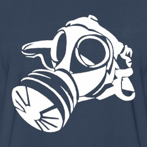 Gas Mask [white edition] - Men's Premium Long Sleeve T-Shirt