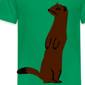 Kelly green Weasel - Ermine Kids Shirts - Toddler Premium T-Shirt