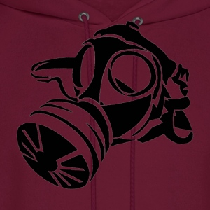 Gas mask [ black edition] - Men's Hoodie