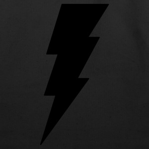 Lightning Bolt T Shirt (Glow in the Dark) - Eco-Friendly Cotton Tote