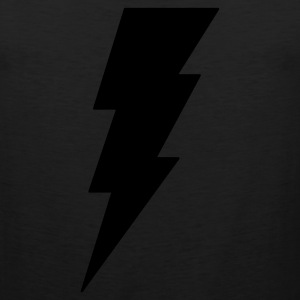 Lightning Bolt T Shirt (Glow in the Dark) - Men's Premium Tank
