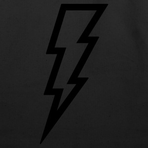 Lightning T Shirt (Glow in the Dark) - Eco-Friendly Cotton Tote